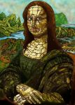 Robo monalisa by richardsymonsart
