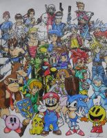 Video Game Mash Up by KickoBang
