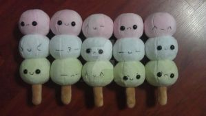 Dango Faces by Love-Who