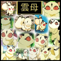 Inuyasha-Kirara Part1 Collage by Strawberry-of-Love