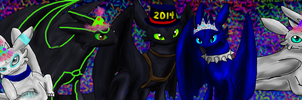 Happy New Years Eve 2014 by PandaFilms