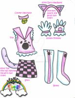 Magical Kitties Costume by Magical-Kitties