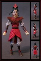 princess azula custom figure  -  commission by nightwing1975