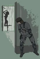 Don't go snaking on me! [Metal Gear Solid - Snake] by Ruwah