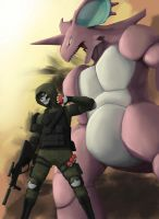 Sergeant Joe Wants to Battle by RedusTheRiotAct