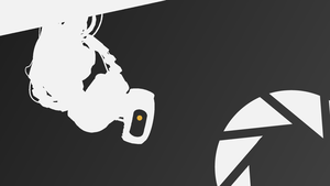 GLaDOS Wallpaper by Enraric