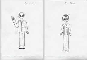 Mr. Garrison and Mr. Mackey by bobrox15