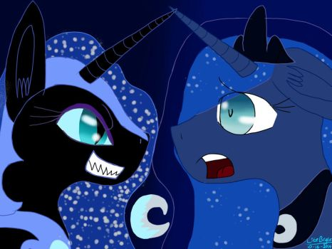 .the beginning of a nightmare. by EquestrianDemigod