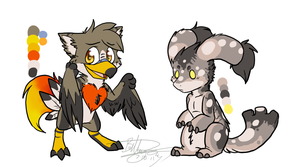 More critters. :3 by PhantomCat