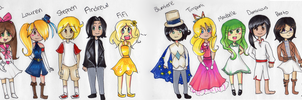 The Whole Tippi Twins Gang :3 by Angelwing8