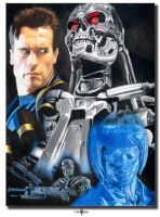 Terminator Tribute by Esau13