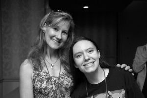 PokeCon - Me and Veronica Taylor by PokemonTrainerLisa