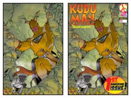 KUDU MAN cover final and graph by SURFACEART
