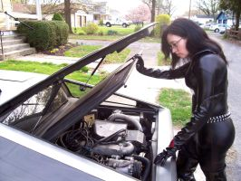 Baroness Car Trouble by Raggletag