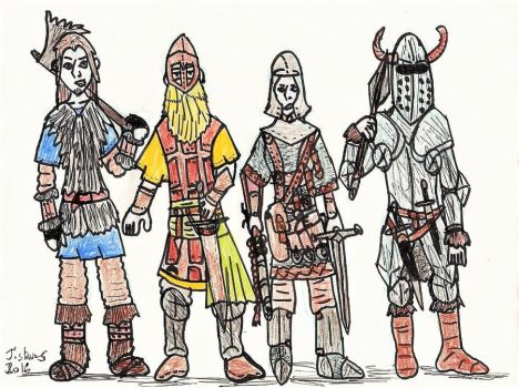 Northmen armors by TheReptilianGeneral