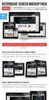 Responsive Screen Mockup Pack by carlosnance
