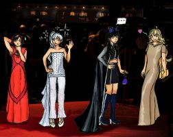 Red Carpet Fashion by Vampyna