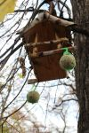 Bird's house (nesting box) by AmaryllisDolls