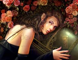 FOR SALE! Elf girl by art-adoption