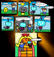 Nintendo Land adventure prologue pg 2 by thegamingdrawer