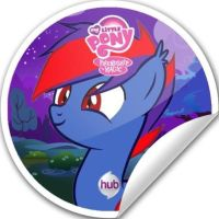 OC with sticker by ThundySilly