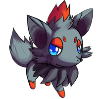 :Zorua: by Solar-Slash