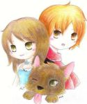 Chibi Bells, Edward, and Jake by Sloth-chan