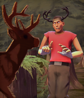 [SFM]Deer by cptHappyDrug