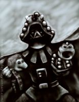 Dark Lord of the Daleks by redspidey