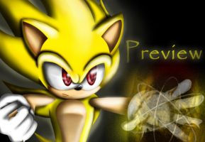 Preview - Super Sonic by Blaze-Fiery-Kitty