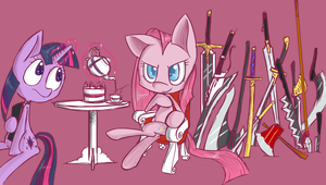 Welcome to my sword tea party! by Voids-Edge