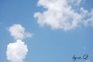the sky  view from my window by amna-alq