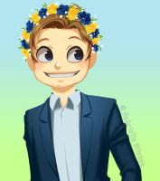 Pewdiepie - Flower Crown by Gabbi