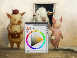 MagicPicker PS Color Wheel 2.0 by Anastasiy