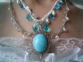 Princess' Necklace by BlueMarinesFactory