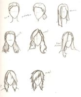 Girl Hair by ajbluesox