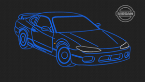 Nissan Silvia S15 - Neon Wallpaper by GT4tube