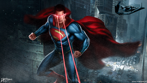 Man Of Steel BVS Dawn Of Justice by DavidCDesigns