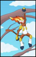 Infernape by BlueStormGeo