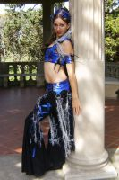 Tribal Fusion Corset Costume by auralynne