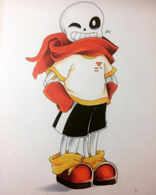Papyrus's No.1 Fan || Undertale  by hopeless-peaches
