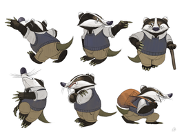 Badger - The Wind In The Willows by nik159