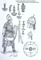 Germanic Warriors Elite of The Migration Era by Gambargin