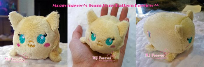 Tsum pony pattern preview ^^ by moggymawee