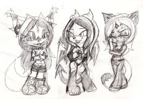 RD: early morning chibi sketching by mhedgehog21