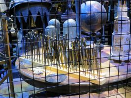 props store at WB studio tour. harry potter wands by Sceptre63