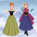 Princess Anna  of Arendale by M-Mannering