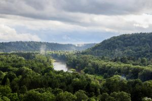 The Valley of Sigulda by Carnaga