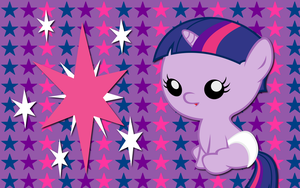 Baby Twilight Sparkle WP by AliceHumanSacrifice0