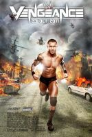 WWE Vengeance Poster 2011 by Chirantha